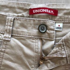 Unionbay Khaki Shorts
